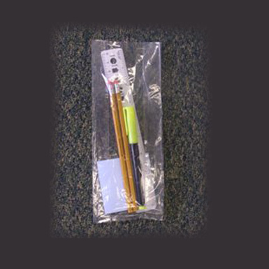 "4""x2""x12"" Gusseted Poly Bags"
