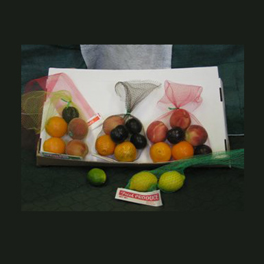 MESH PRODUCE BAGS with HEADER