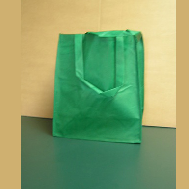 GREEN FABRIC TOTE BAGS