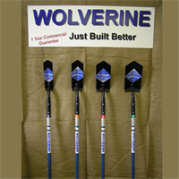 FIBER HANDLE TRENCHING SHOVELS