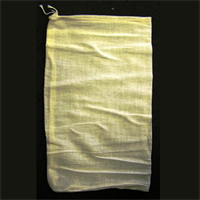 "8.5""X15"" COTTON DRAWSTRING PARTS BAGS"