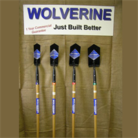 WOOD HANDLE TRENCHING SHOVELS