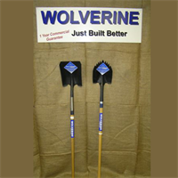 LONG WOOD HANDLE SHOVELS