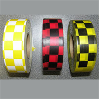 "Flagging Tape-Checkered-1-3/16"" wide"