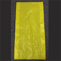 "15""X4""X30"" YELLOW OPAQUE POLY BAGS with VENT HOLES"
