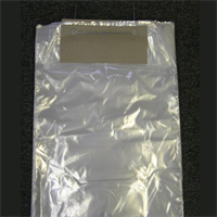 CLEAR WICKETED BAGS
