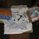PRINTED T-SHIRT WIPING CLOTHS