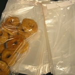 CLEAR POLYPROPYLENE WICKETED BAGS