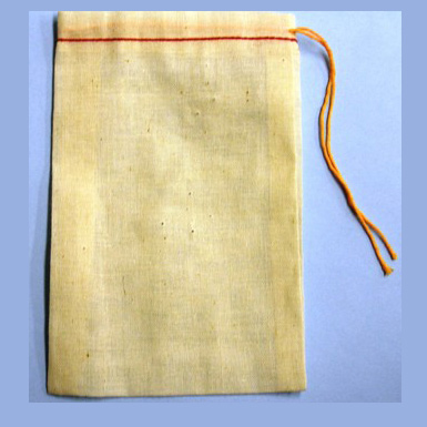 "5""x8"" COTTON DRAWSTRING PARTS BAGS"