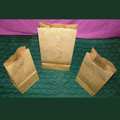 HEAVY DUTY NATURAL BROWN KRAFT GROCERY BAGS
