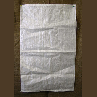 NEW WOVEN WHITE POLYPROPYLENE FEED BAGS