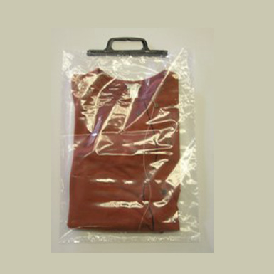CLEAR POLY SNAP HANDLE BAGS